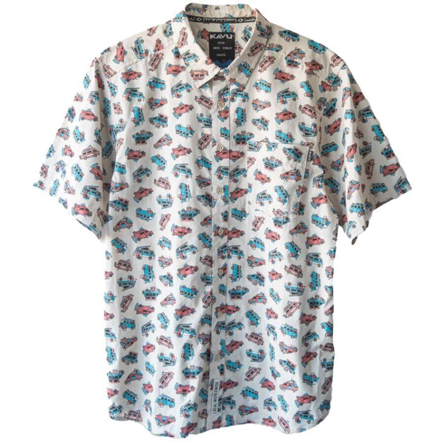 Kavu Festaruski Men's Short Sleeve Shirt