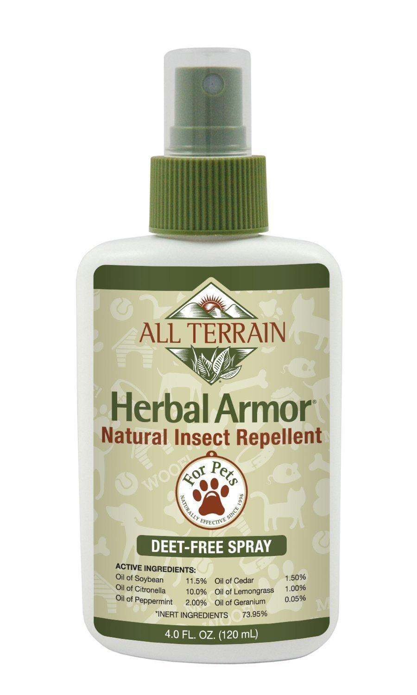 All Terrain Pet Herbal Armor DEET-free, Natural Insect Repellent Spray