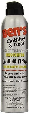 Bens Clothing & Gear Insect Treatment - Unscented