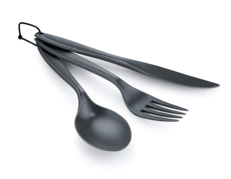 GSI Outdoors 3-Piece Ring Cutlery