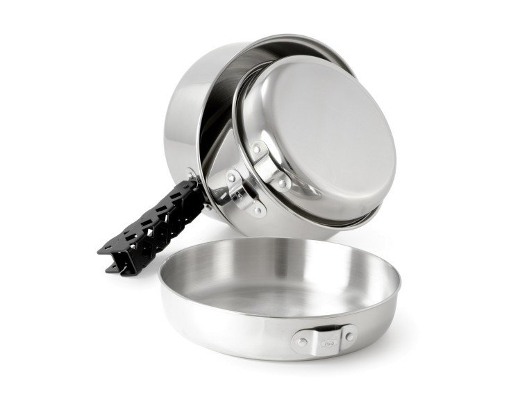 GSI Outdoors Glacier Stainless Cookset - SM