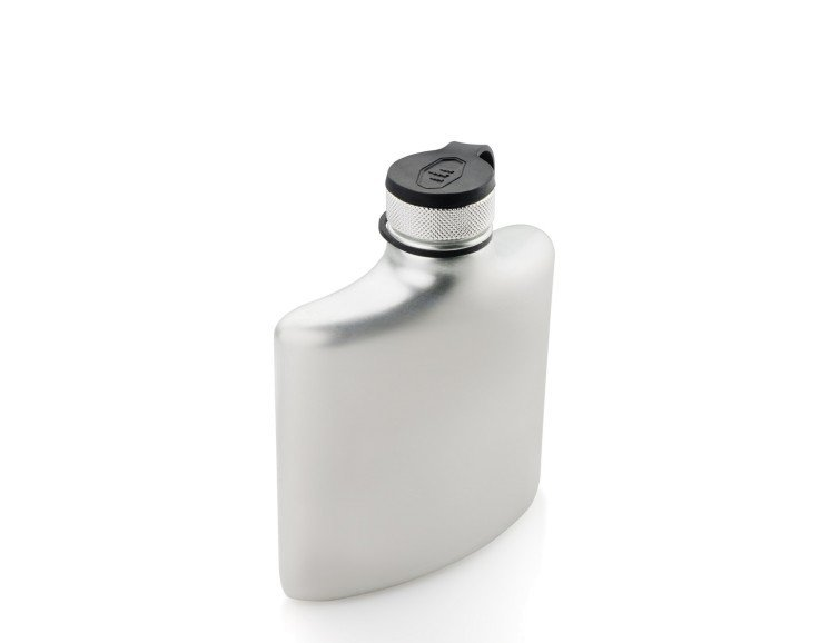 GSI Outdoors Glacier Stainless Hip Flask - 6 fl oz
