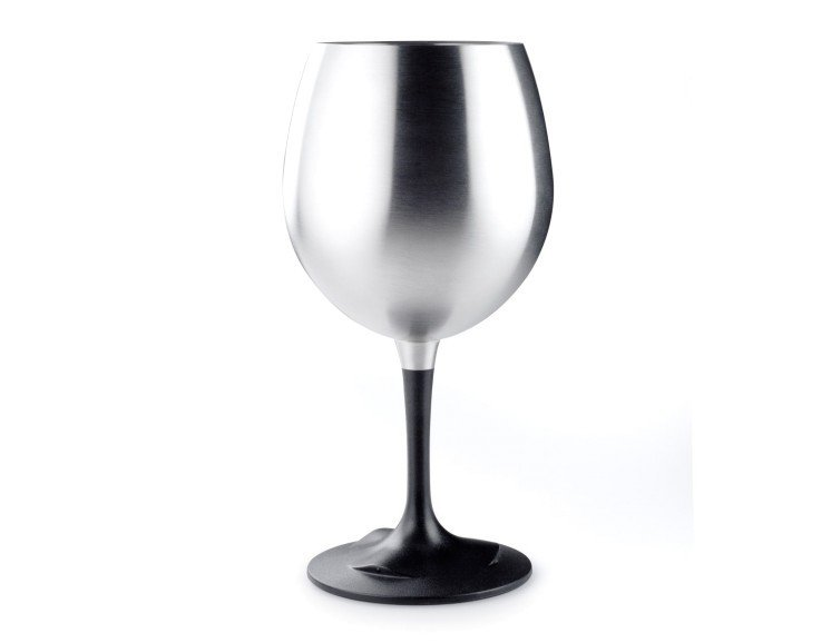 GSI Outdoors Glacier Stainless Nesting - Red Wine Glass
