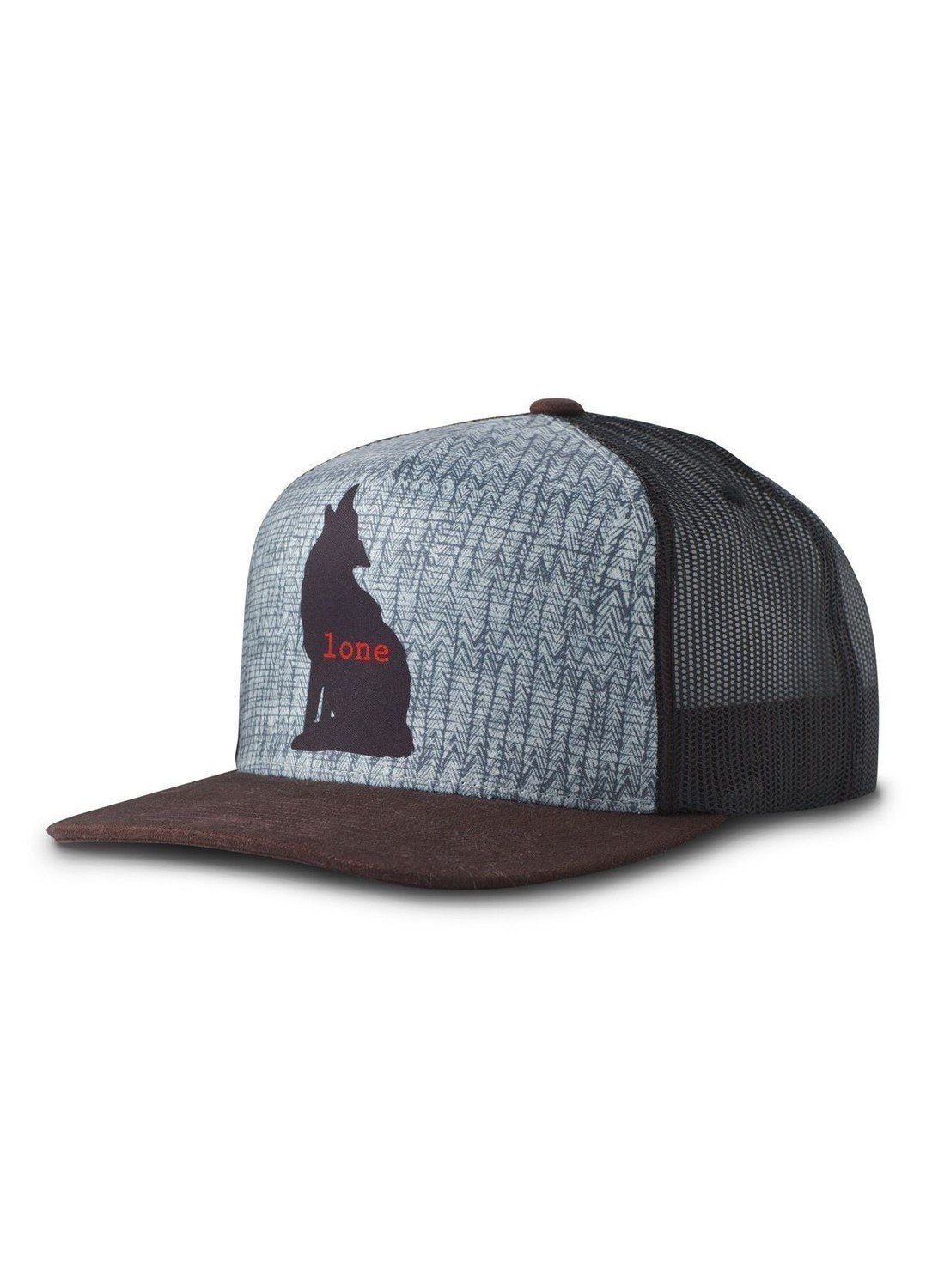 prAna Journeyman Trucker Hat Lone Wolf