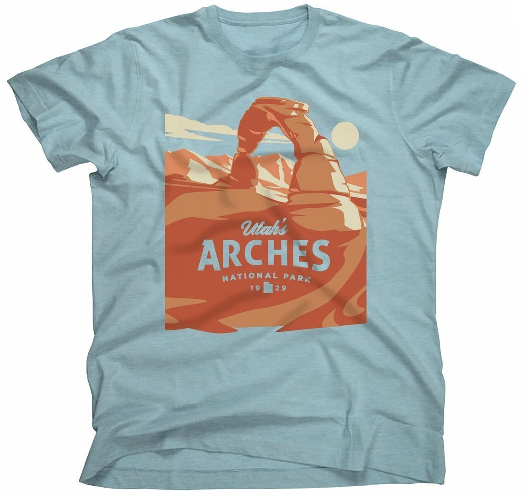 Landmark Project Arches National Park Unisex Tee