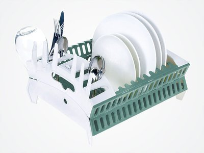 Fozzils Collapsible Compact Dish Rack