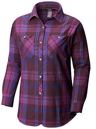Mountain Hardwear Acadia Stretch Hooded Long Sleeve Shirt