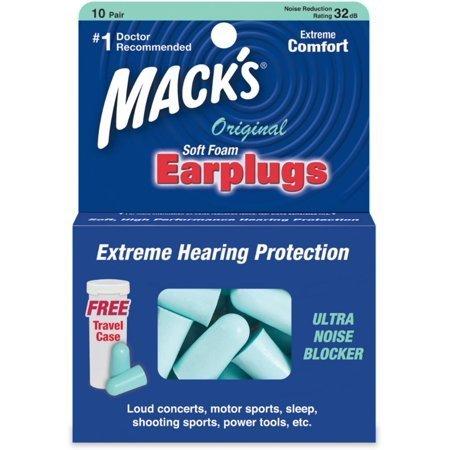 Mack's Original Soft Foam Earplugs