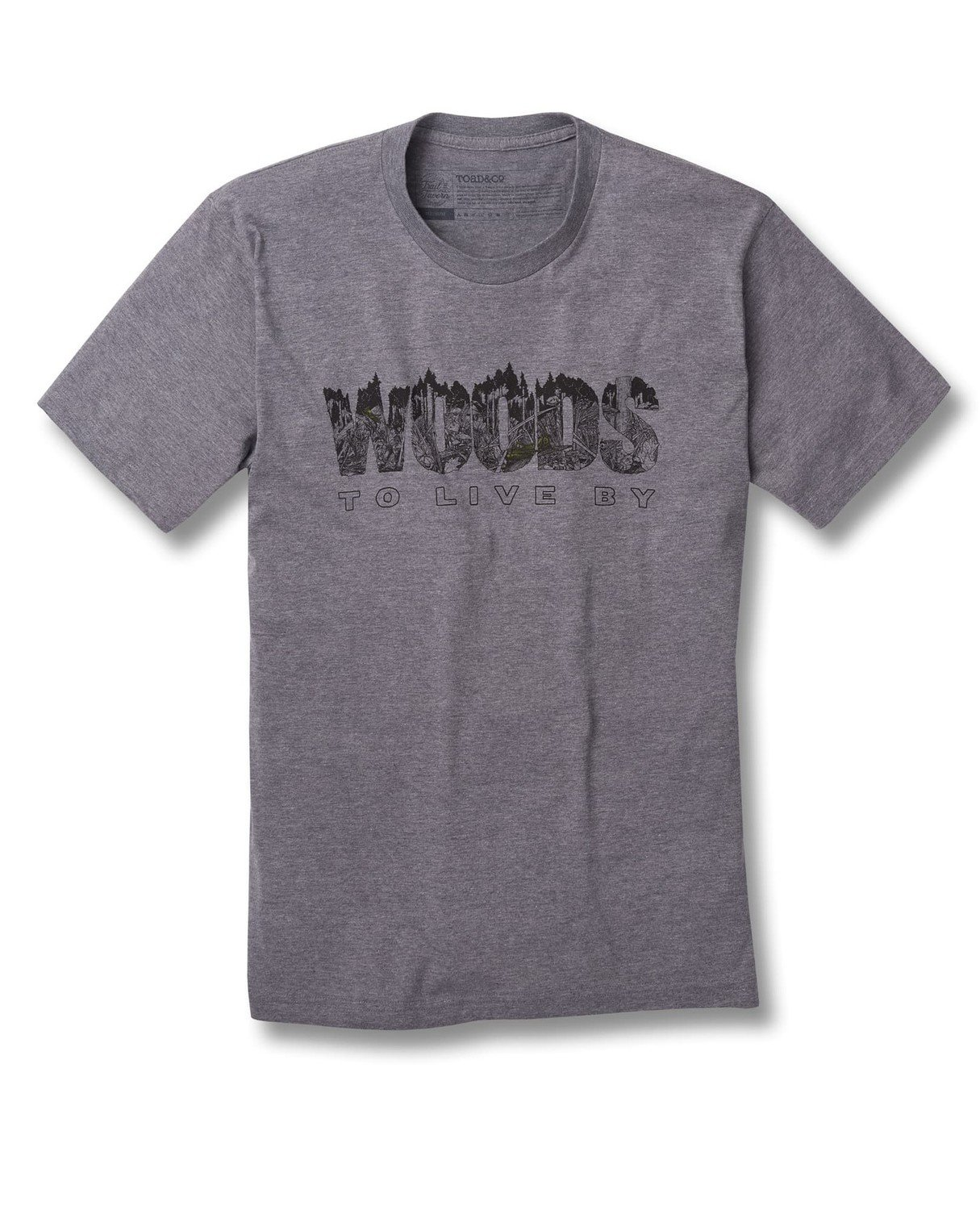 Toad&Co Woods To Live By Graphic Tee