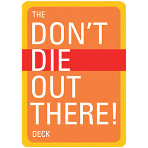The Don't Die Out There! Playing Card Deck