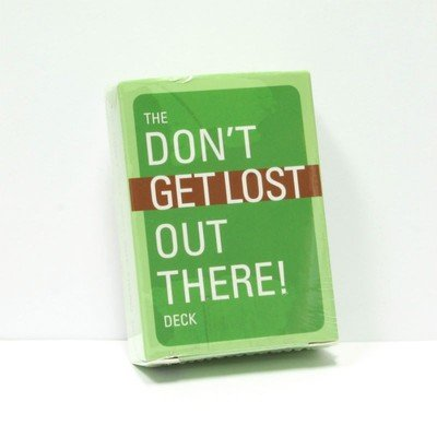 The Don't Get Lost Out There! Playing Card Deck