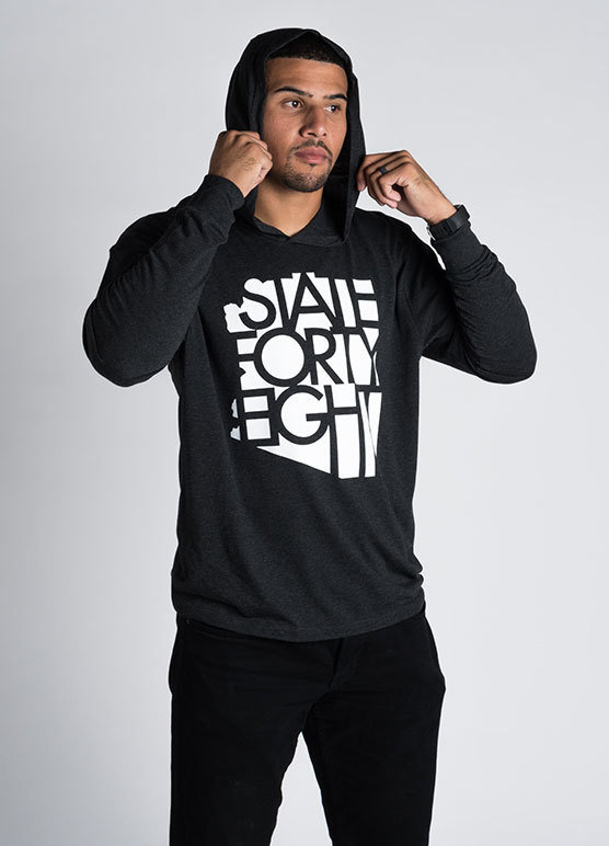 State Forty-Eight Unisex Tri-Blend Pullover Hoodie