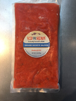 Wild for salmon ground Salmon (1 pound)PP