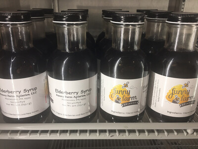 Funny Farm Apiaries Elderberry Syrup PP