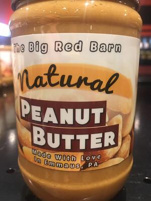 Big Red Barn natural peanut butter PP