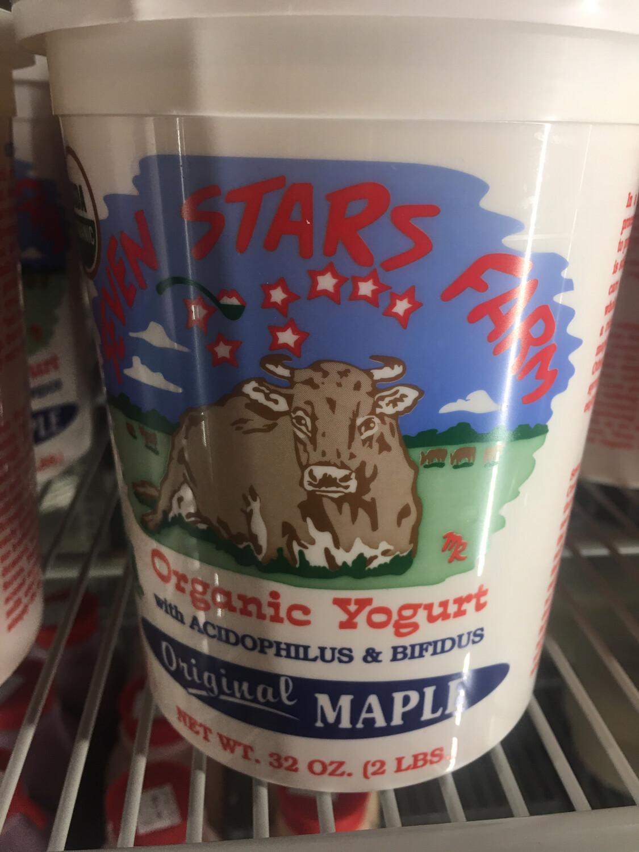 Seven Stars flavored yogurt