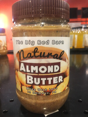 Big Red Barn almond butter PP
