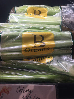California organic celery hearts