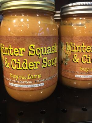 Buy the Farm Winter Squash cider soup PP