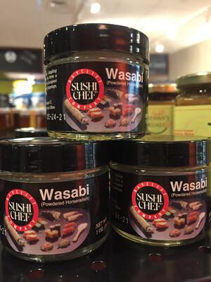 Sushi Chef wasabi