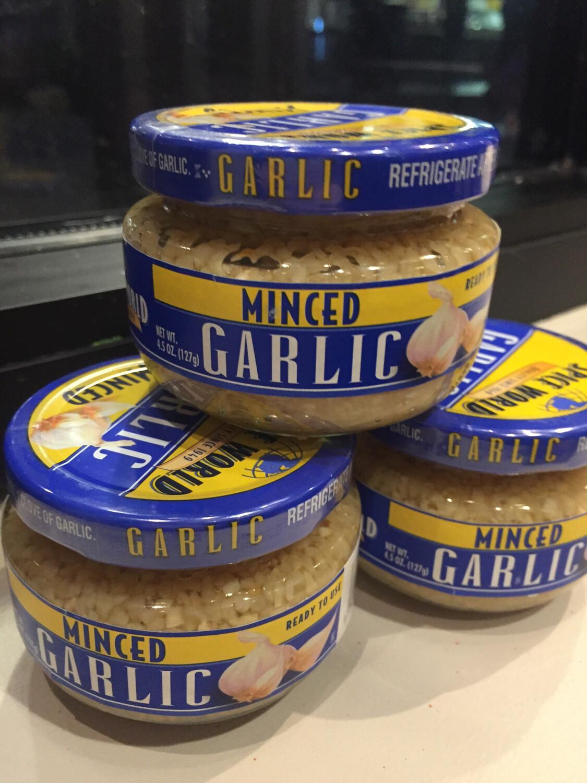 Spice World Minced Garlic