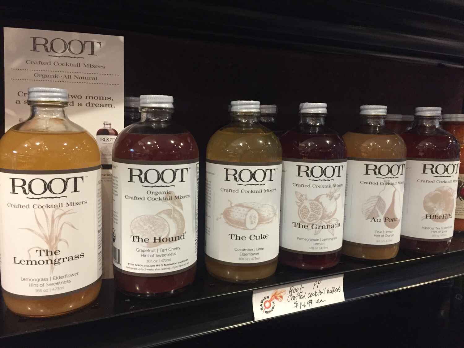 Root Crafted Cocktail mixers PP