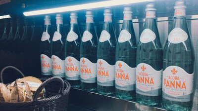Aqua Panna Tuscan Glass Bottled Water