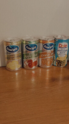 Ocean Spray/ Dole Fruit Juices