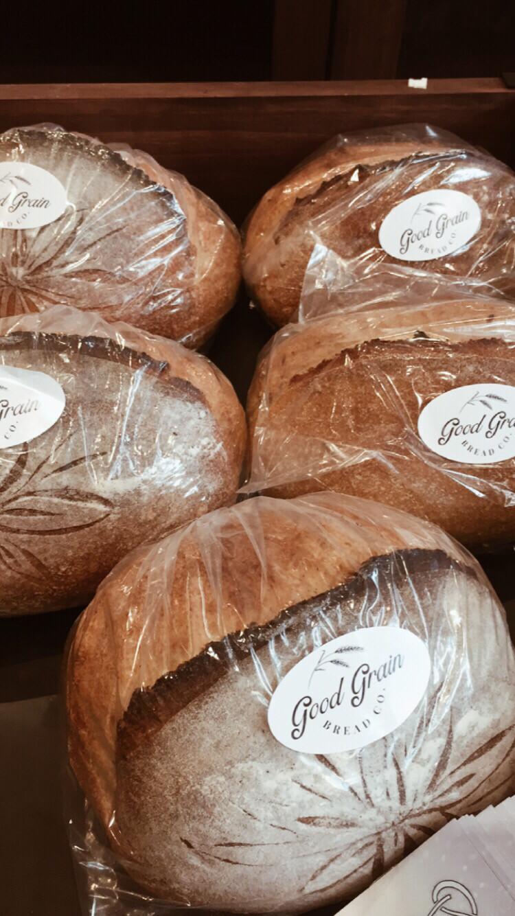 Good Grain PP Olive and herb Sourdough half loaf (not sliced)
