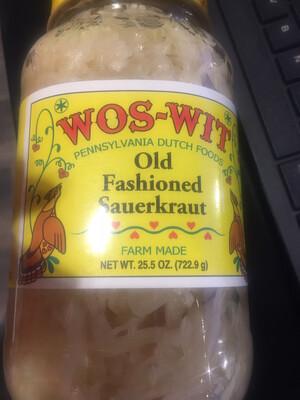 Wos Wit Sauerkraut