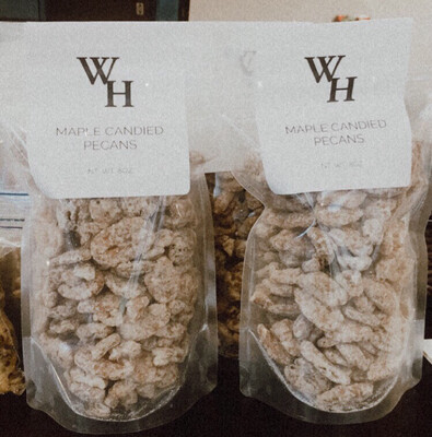 Whiskey Hollow Maple Candied Pecans