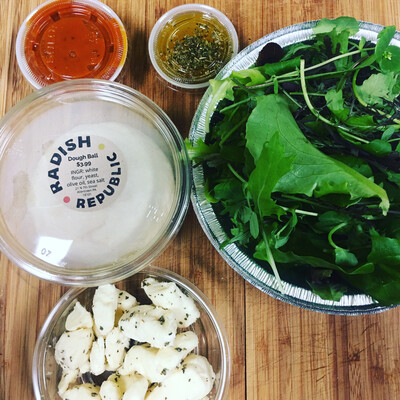 Radish Republic Pizza kit