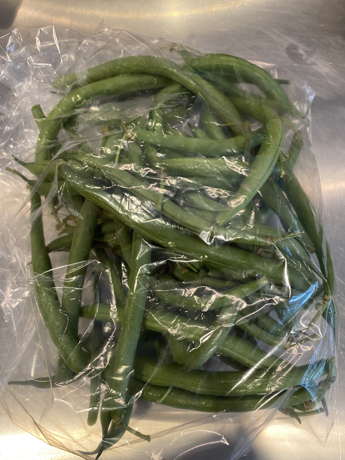 Lancaster Farm Fresh organic yellow wax beans (1/2 lb)