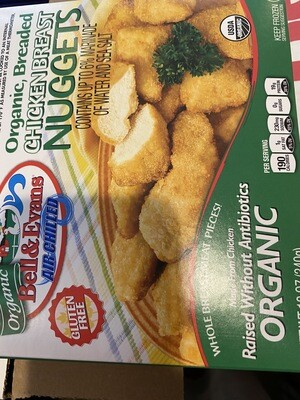 Bell and Evans Organic GF chicken nuggets 12 ounce
