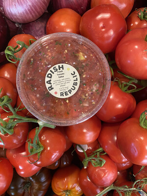 Radish Republic Fresh tomato salsa 8 ounce