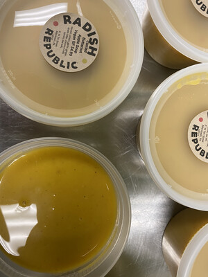 Radish Republic cream of broccoli cheddar