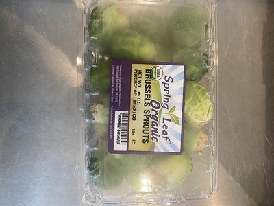 Brussels Sprouts OG 16 ounce clamshell