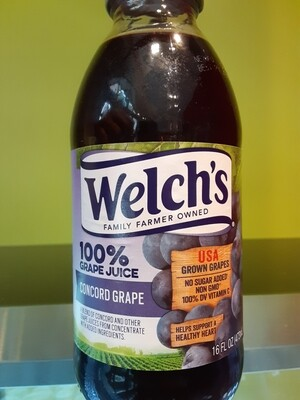 Welch's 100% concord grape juice