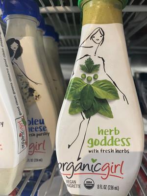 Herb Goddess Vinaigrette by Organic Girl 8 oz