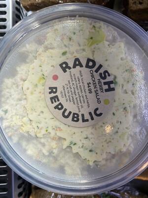 Radish Republic herby chicken salad