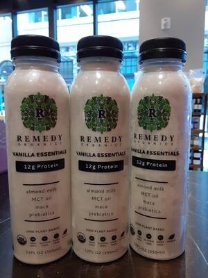 Remedy Organics Almond Milk Vanilla Protein Beverage 12 oz