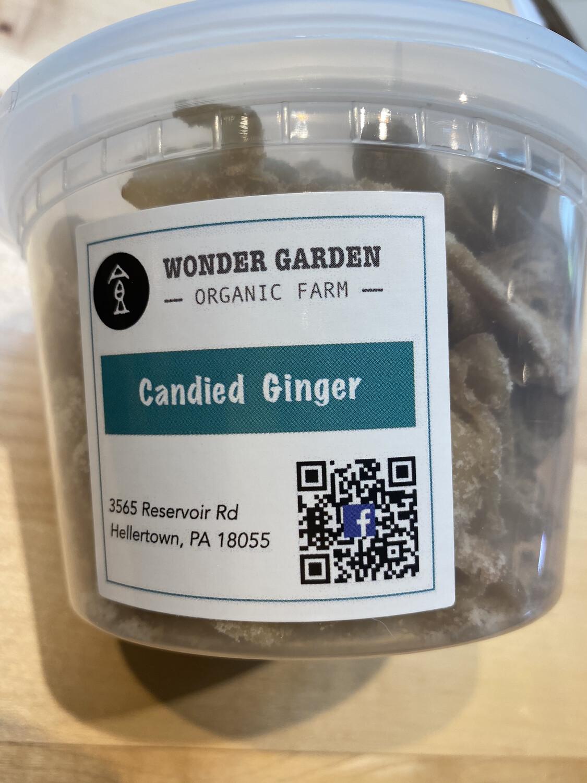 Wonder Garden candied ginger PP 16 ounce