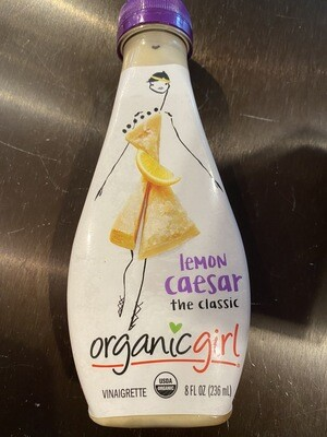 Organic Girl lemon Caesar dressing