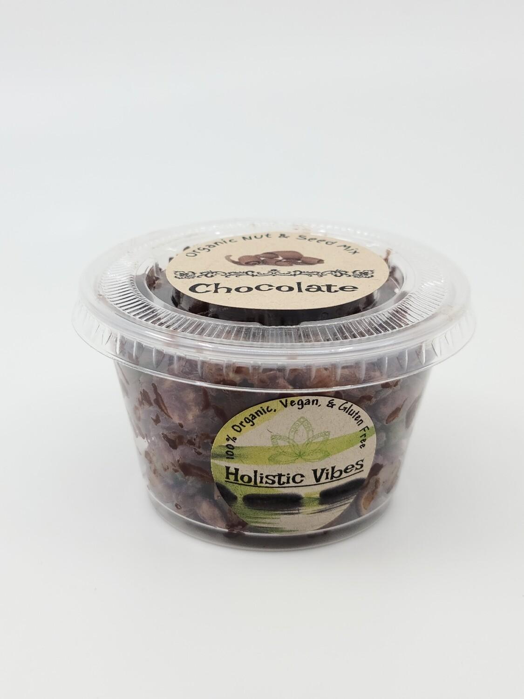 Holistic Vibes - Seasoned Nut & Seed Mix 4oz - OG, Vegan, GF