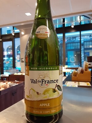 ValDeFrance organic sparkling apple juice