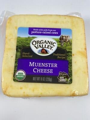 Organic Valley Meunster cheese block 8 ounce