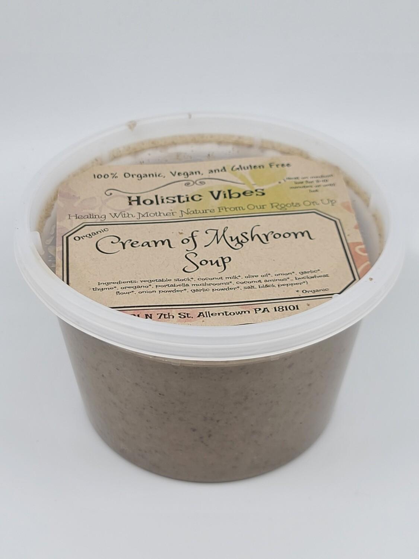 Holistic Vibes - Cream of Mushroom Soup - OG, Vegan, GF