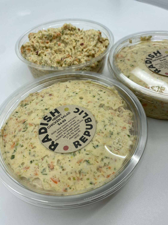 Radish Republic herby chicken salad 8 ounce