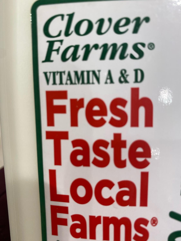 Clover local milk