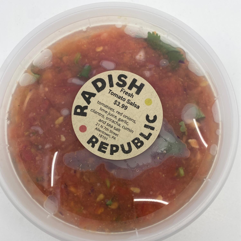 Radish Republic Fresh tomato salsa 16 ounce